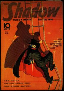 The Shadow Pulp November 1 1938- The Voice- Walter Gibson FN