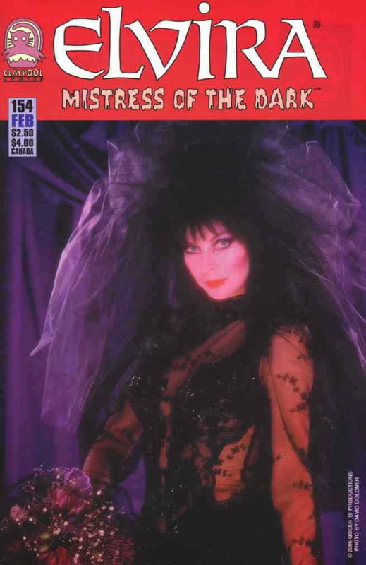 Elvira, Mistress of the Dark #154 FN; Claypool | save on shipping - details insi