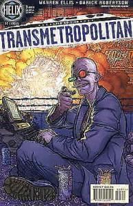 Transmetropolitan #3 FN; DC/Helix | save on shipping - details inside