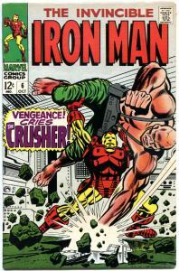 IRON MAN #6, VF+, Invicible, Crusher, George Tuska, 1968, more IM in store