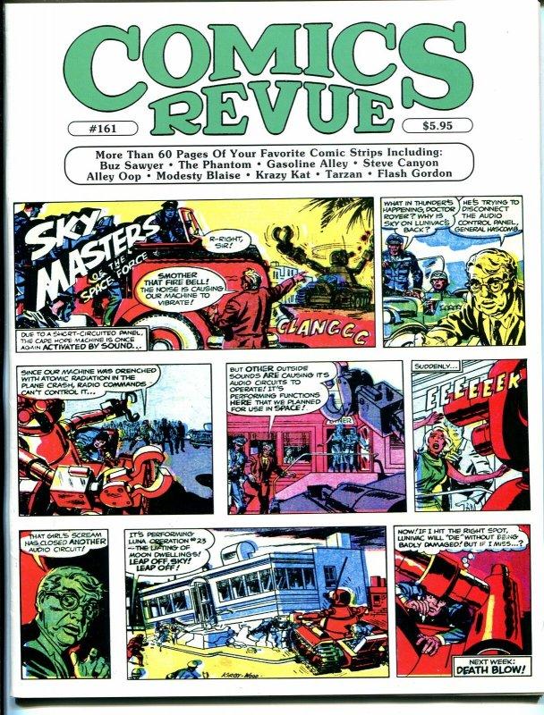 Comics Revue #161 1999-Kirby & Wood-Sky Masters-Phantom-Modesty Blaise-Tarzan-VF