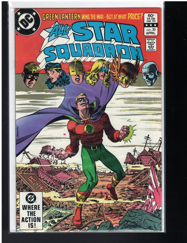 All-Star Squadron #20 (DC, 1983) NM-