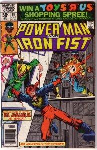 Power Man and Iron Fist   vol. 1   # 65 VG Duffy/Gammill, Layton cover El Aguila