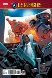 U.S. Avengers (March 2017 series) #6, NM (Stock photo)