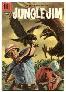 Jungle Jim #12 1957- Dell silver age comic VG