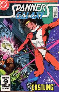 Spanner's Galaxy #1 VG; DC | low grade comic - save on shipping - details inside