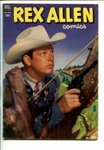 REX ALLEN #6-1952-WESTERN-PHOTO COVERS- fn
