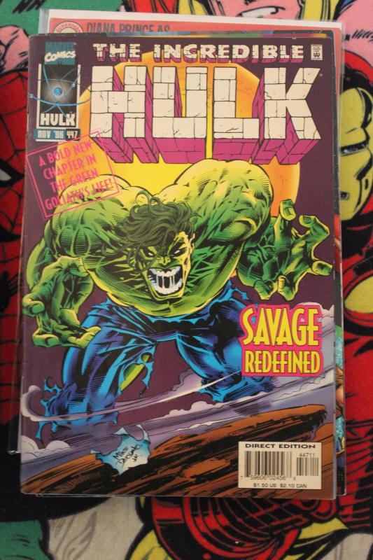 Incredible Hulk 447 FN