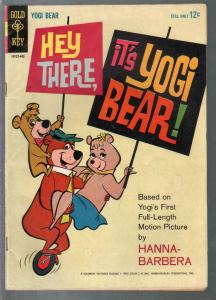 Hey There, It's Yogi Bear 1964-Dell-Hanna Barbera-movie edition-FN-
