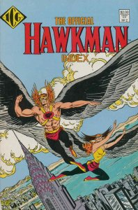 Official Hawkman Index, The #2 VF/NM; ICG | save on shipping - details inside