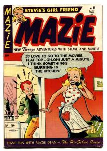 Mazie #11 1953- Golden Age GGA comic book TEEN HUMOR