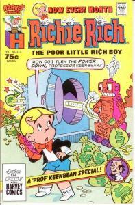 RICHIE RICH  (1960-1991) 223 VF-NM Feb. 1987 COMICS BOOK
