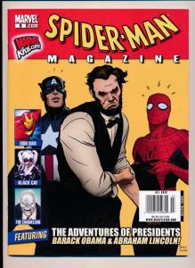 Spider-Man Magazine #9 Marvel Kids, 2010 Marvel Comics ~ NM (D01)