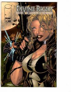 Divine Right # 6 NM 1st Print Image Comic Book VARIANT Cover Glow In Dark J240