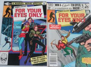 FOR YOUR EYES ONLY 1-2 complete 007! Chaykin no less