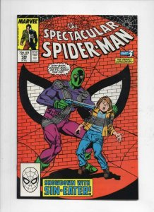 Peter Parker SPECTACULAR SPIDER-MAN #136 VF/NM Sin-Eater 1976 1988 more in store