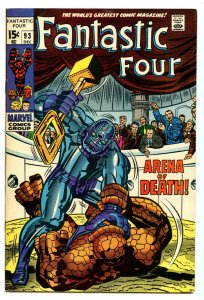 Fantastic Four 93 Dec 1969 VG/FI (5.0)