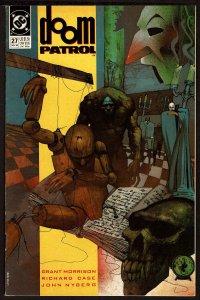 Doom Patrol #27 Grant Morrison (Nov 1989, DC)  6.5 FN+