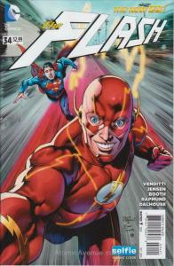 Flash, The (4th Series) #34A VF/NM; DC | save on shipping - details inside