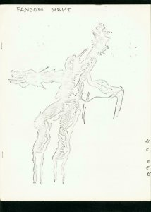 FANDOM MART #2 1969-OBSCURE COMIC FANZINE/CATALOG-RARE FN/VF