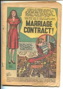 YOUNG ROMANCE #53 1953-PHOTO-WILD LOVE-SIMON & KIRBY VG/FN
