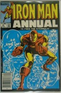Iron Man ANN #6 NS - 4.0 VG - 1983