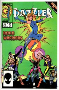DAZZLER #40, VF/NM, Paul Chadwick, Road Warriors, 1981 1985 more Marvel in store