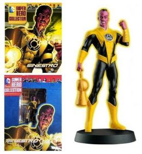 DC Superhero Collection #23 Sinestro Figure w/Booklet (Eaglemoss, 2015) New!