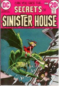 SECRETS OF SINISTER HOUSE 7 VERY FINE  Nov. 1972 COMICS BOOK