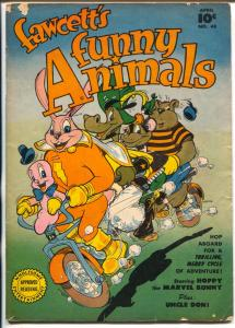 Fawcett's Funny Animals #48 1947-Fawcett-Hoppy Capt Marvel Bunny-VG