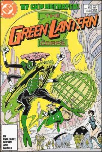 DC GREEN LANTERN CORPS (1986 Series) #214 VF