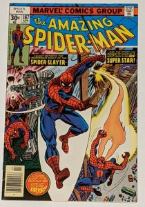 Amazing Spider-Man #167 (Apr 1977, Marvel) FN+ 6.5 1st app Will O' The Wisp