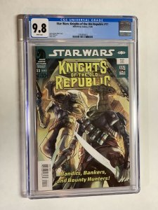 Star Wars Knights of the old Republic 11 cgc 9.8 wp dark horse