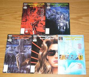 Terminator: the Burning Earth #1-5 VF/NM complete series ALEX ROSS now set 2 3 4