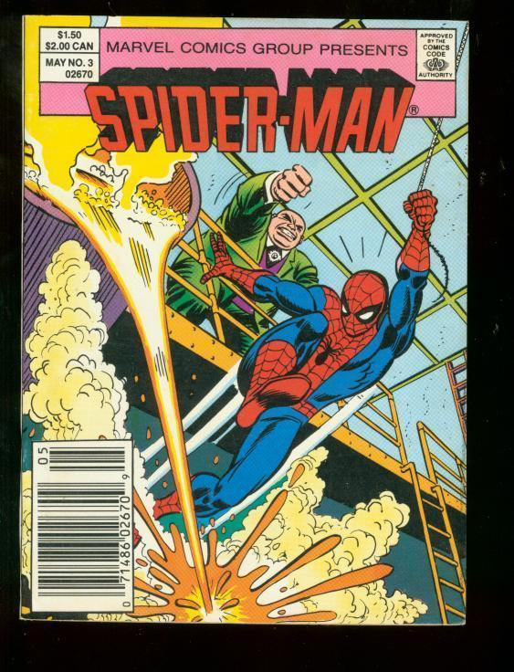 SPIDER-MAN COMICS MAGAZINE #3 1987 DIGEST KINGPIN VF