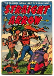 Straight Arrow #17 1951- Golden Age Western-Meagher VG
