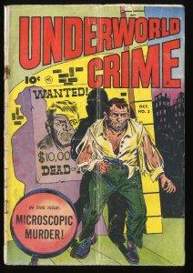 Underworld Crime #3 FA/GD 1.5