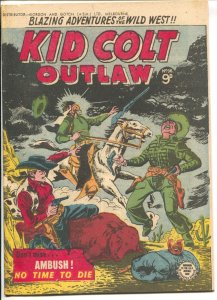 Kid Colt Outlaw #36 1950's-Atlas-Jack Keller-George Tuska-Australian-VF