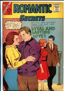 Romantic Secrets #50 1964-Charlton-spicy art-scalp infection story-nice art-VG+