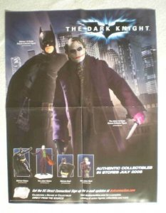 DARK KNIGHT Promo Poster, BATMAN,17x22, 2008, Unused, more Promos in store