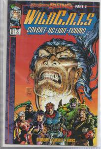 WILDC.A.T.S #20 - IMAGE COMICS - WILDSTORM RISING - BAGGED,& BOARDED