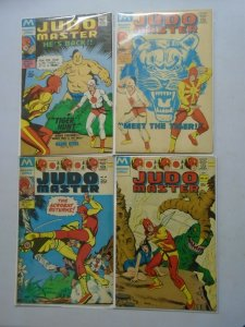 Judo Master lot 4 different issues 4.0 VG (1977 Modern Reprints)