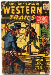 Western Trails #2 1957- RINGO KID- Severin- Maneely reading copy