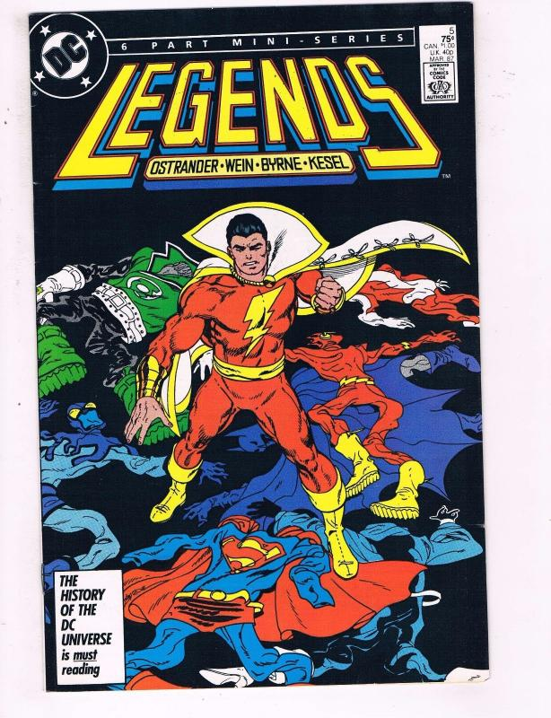 Legends # 5 NM 1st Print Batman Superman Suicide Squad Atom Arrow Flash BN2