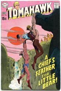 Tomahawk Comics #125 1969-Neal Adams- DC Western Silver Age- VF