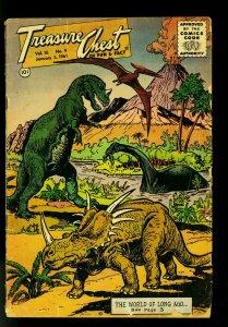 Treasure Chest Comics Vol 16 #10 1961 -Reed Crandall art- G