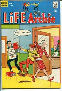 Life With Archie #72 1968-Betty-Veronica-The Archies rock band-VF