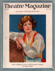 Theatre 7/1926-Tessa Kosta -Queenie Smith-Blackface routines-VG+