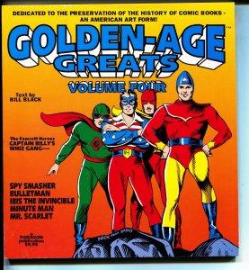 Golden Age Greats-Vol 4-Bill Black-TPB-trade