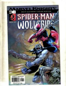 9 Wolverine Comics Spider-Man 1-4, Encyclopedia, Doop 1 2, Bloodlust, ++ HY6
